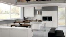 cuisine américaine design italien moderne