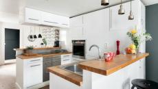 Design blanc cuisine moderne