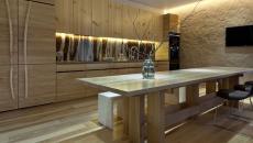 éclairage led esthétique pour la cuisine avec lumière tamisée