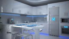 luminaire led pour décorer cuisine moderne