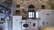 cuisine antique rustique chambres d'hôte luxe