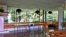 aménagement cuisine maison écologique passive