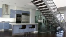Cuisine design moderne escalier contemporain