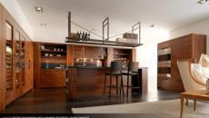 cuisine design bois exotique placards artisanal italien