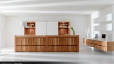 cuisine design bois moderne et contemporaine italienne toncelli