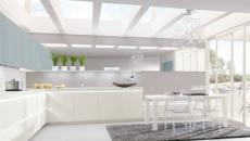 cuisine design moderne en blanc
