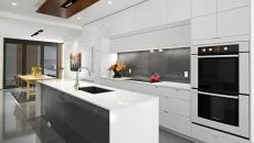 cuisine minimaliste sympa résidence contemporaine