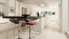 cuisine moderne contemporain maison citadine