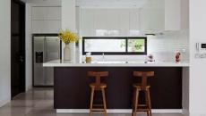 cuisine moderne compacte aménagée design contemporaine