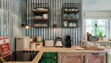 cuisine originale rustique industrielle