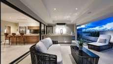 maison de luxe design moderne cuisine d'été