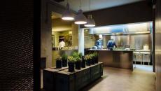 cuisine ouverte moderne design industriel