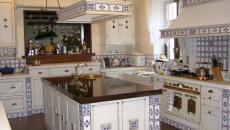 retro cuisine provençale vintage ameublement