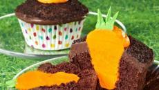gâteau cupcake crème chocolat