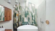 déco mur salle de bains carrelage design