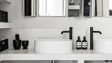 aménagement petite salle de bain chic appartement