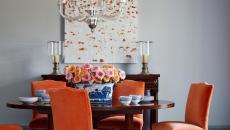 salle à manger chaises en velours