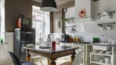design retro années 50 cuisine créative