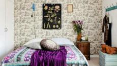 chambre à coucher design artistique