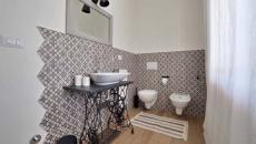 déco créative salle de bain rétro