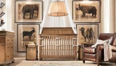 idée déco chambre de bébé lit