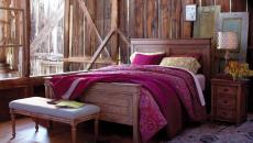 rustique revisité moderne chambre éclectique design