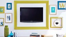 accessoiriser la télé design déco intérieure maison moderne