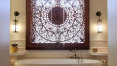 cache vue fenêtre salle de bains esthétique