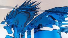 pegasus 3D design déco murale