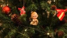 accessoires de déco Noël sapin enfants anges de deco