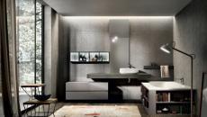 salle de bains design luxe industriel retro