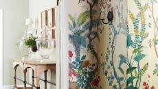 déco maison en fleurs printanières
