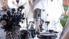décoration table de repas esprit Halloween