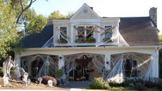 transformer façade maison en maison hantée