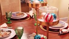 jolie table décorée rouge idées Noël