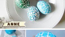 œufs de pâques originaux dessin