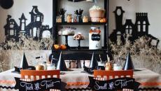 Décoration salle à manger maison Halloween