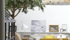 arbre deco salon créative éco verte