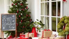 déco festive outdoor maison fêtes de fin d'année