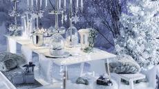 décoration de Noël table et intérieur maison