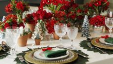 accessoires et idées déco table de fête Noël