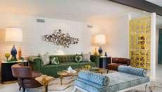 briques blanches mur style industriel salon séjour maison moderne