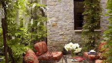 salon de jardin fer forgé patio