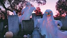 fantômes décoration halloween créative