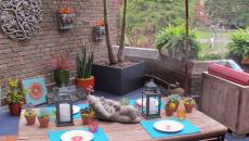 terrasse décoration aménagement minimaliste