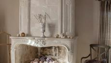 cheminée ancienne trumeau luxe