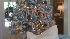 idées déco arbre de Noël en blanc