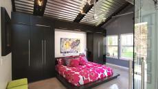 drap couleurs contraste maison moderne chambre