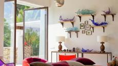 intérieur design déco éclectique résidence de luxe