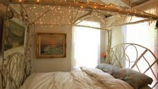 guirlandes de Noël décoratives pour la chambre